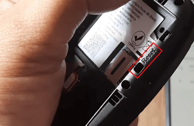 JioFi Hard Rest Button